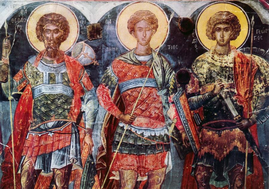 Οι Άγιοι Θεόδωροι, Αγιος Θεόδωρος ο Στρατηλάτης, Αγιος Θεόδωρος Τήρων