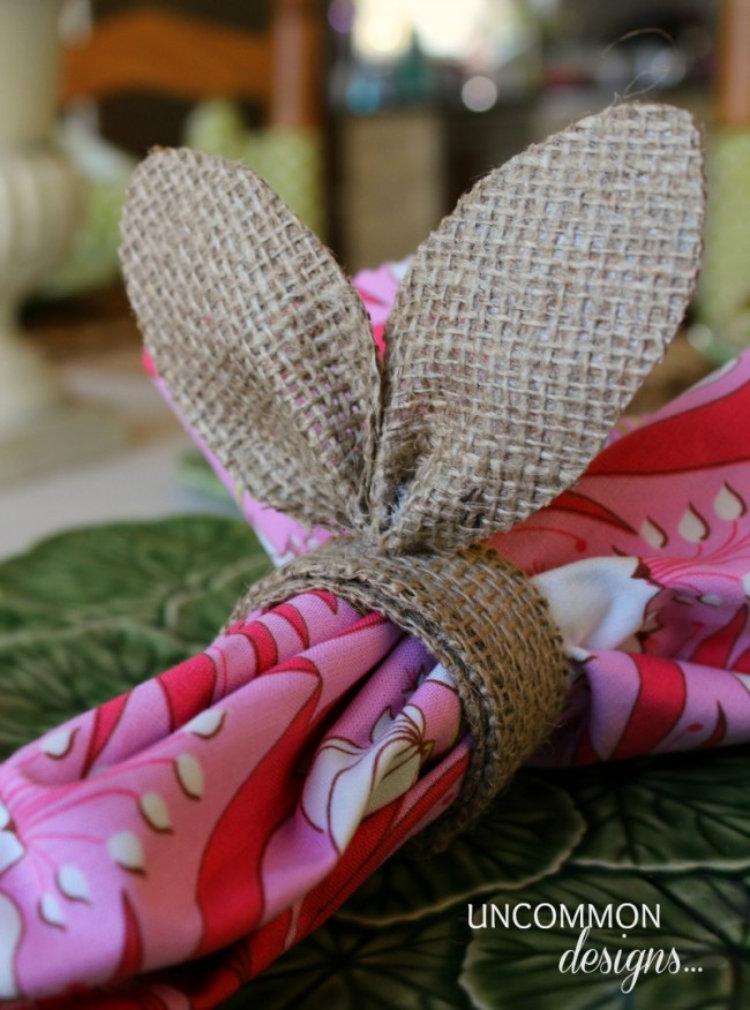 Φτιαξτέ Πανεμόρφες πασχαλινές θήκες για τις πετσέτες σας