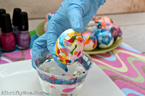 How-to-dye-eggs-with-Nail-Polish-and-water-Finger-Nail-Polish-SWIRL-eggs-Easter-Eggs-Easter-How-to-make-swirled-easter-eggs-Easter-Hacks-3