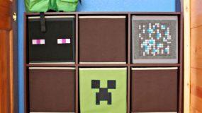 Πως θα φτιάξετε το απόλυτο Μinecraft παιδικό δωμάτιο.Τα αγόρια θα ξετρελαθούν!