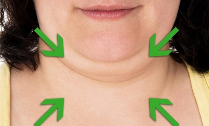 Μειώστε το διπλοσάγονο και τονώστε το λαιμό