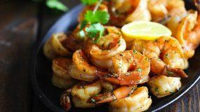 Γαρίδες λεμονάτες στο φούρνο