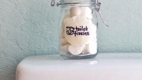 Φτιάξτε ταμπλέτες χωρις χημικά για την λεκάνη της τουαλέτας