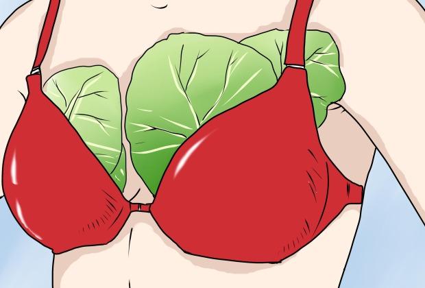 Βάλτε φύλλα λάχανου στο στήθος και τα πόδια σας πριν πάτε για ύπνο.Ο λόγος;Θα σας καταπλήξει