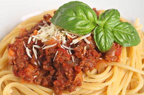 spaghetti-bolognese