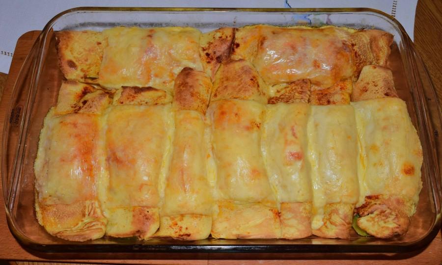 Φανταστικές κρέπες λαχανικών φούρνου