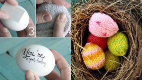 37 Πρωτότυπες ιδέες για να διακοσμήσετε τα πασχαλινά αυγά σας