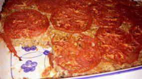 Νηστίσιμο ριζότο ντομάτας