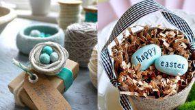 12 ιδέες για Πασχαλινές διακοσμητικές φωλίτσες