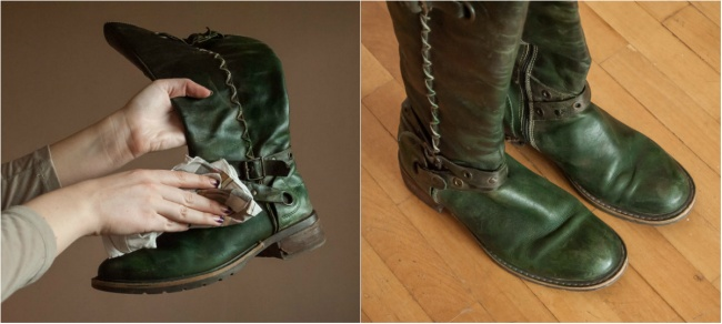 Δέκα απίστευτοι τρόποι για να δώσετε πάλι ζωή στα ρούχα και τα παπούτσια σας