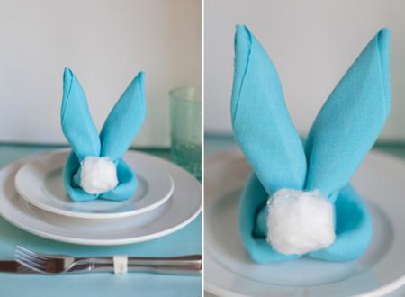 Super ιδέες για χαρτοπετσέτες και πετσέτες για το Πασχαλινό τραπέζι