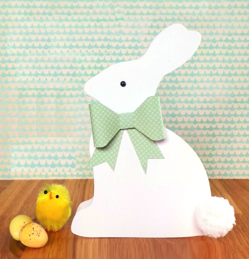 Easter-Bunny-Shaped-Card