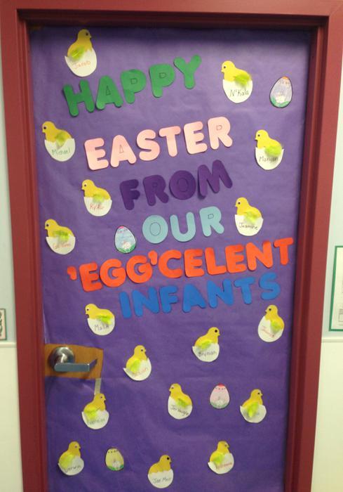 Egg-cellent-Easter-Door