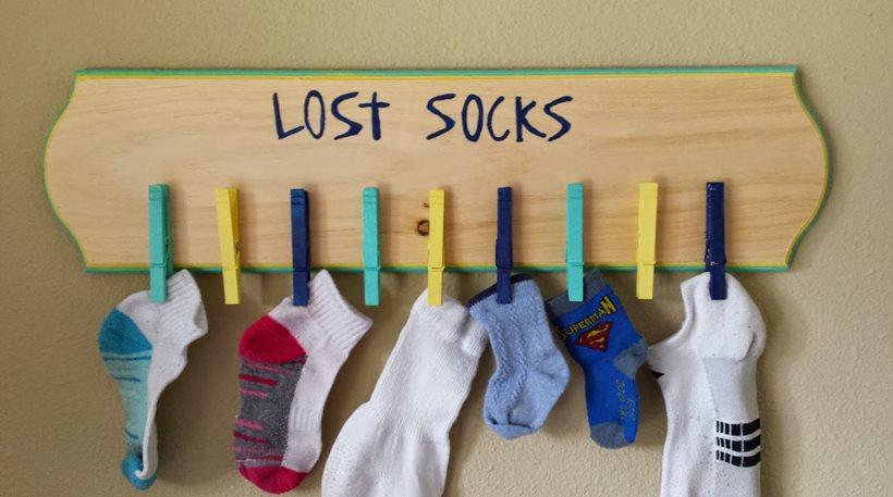 Οι επιστήμονες έλυσαν το μυστήριο με τις χαμένες κάλτσες!Γιατί εξαφανίζονται!