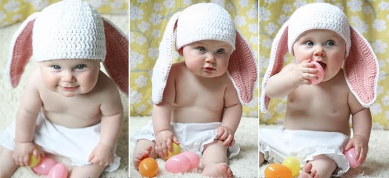 fc840ec2434 Ιδέες για πλεκτά πασχαλινά αξεσουάρ για μωράκια - Daddy-Cool.gr
