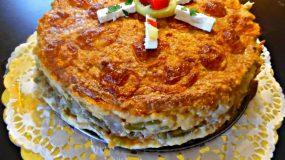 Αλμυρή τούρτα με φασολάκια της Εφης