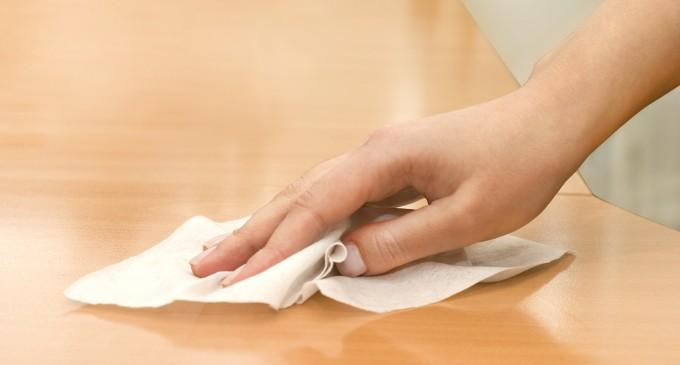 Φτιάξτε Μόνοι σας Απολυμαντικά Μαντηλάκια για το σπίτι