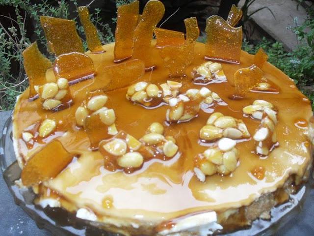 Συνταγή για καραμελένια τούρτα όνειρο
