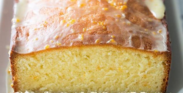 Εύκολο κέικ με γλάσο πορτοκαλιού του δεκάλεπτου!