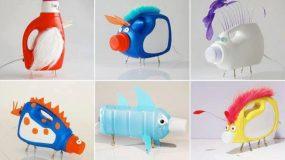 Πως θα μετατρέψετε τα πλαστικά μπουκάλια σε απίθανα διακοσμητικά