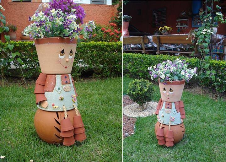 Flowerpot-people