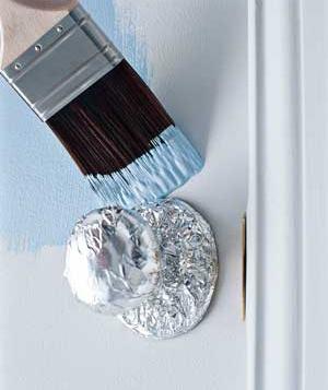 Painting-around-door-knobs