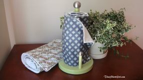 Φτιάξτε ρόλο κουζίνας με  επαναχρησιμοποιήσιμες πετσέτες