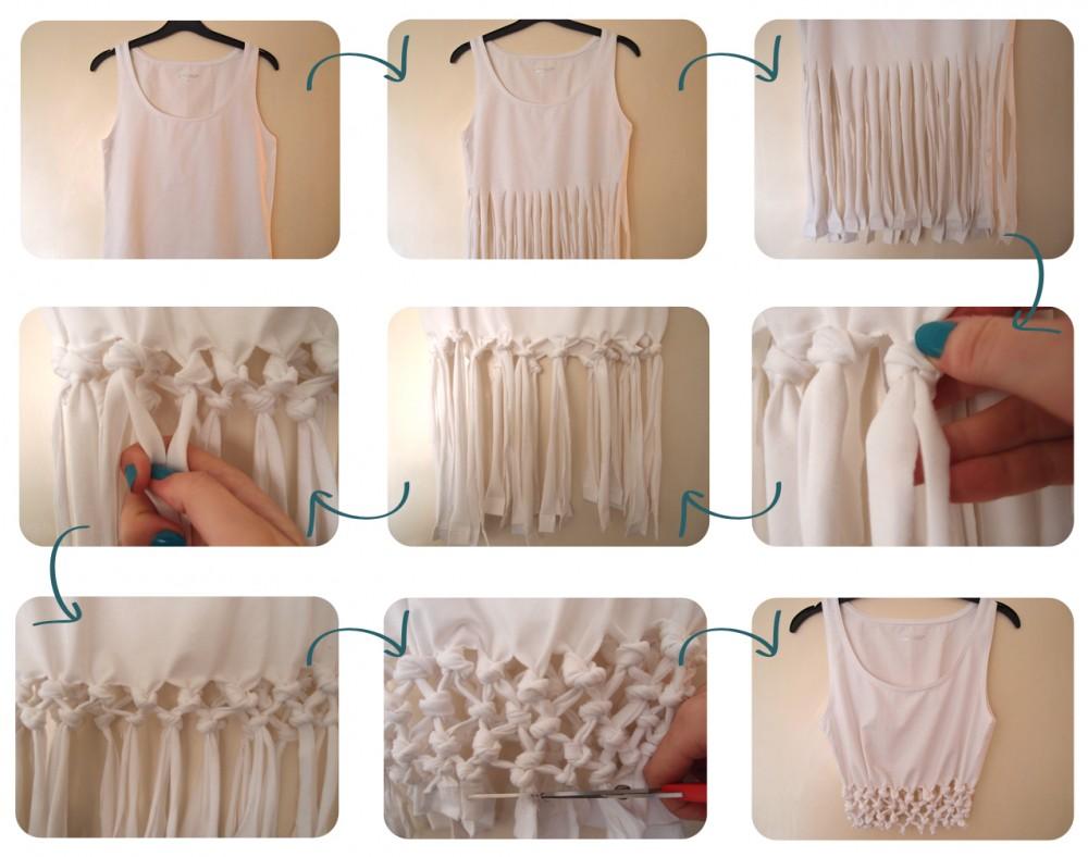 Ιδέες για να μετατρέψετε τα παλιά T-Shirt σας σε υπέροχες καλοκαιρινές μπλούζες