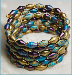 painted-paper-beads