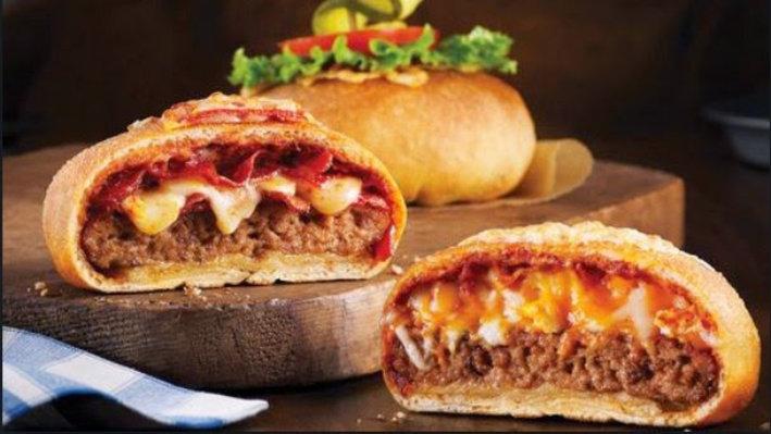 Φτιάξε λαχταριστό pizza-burger!