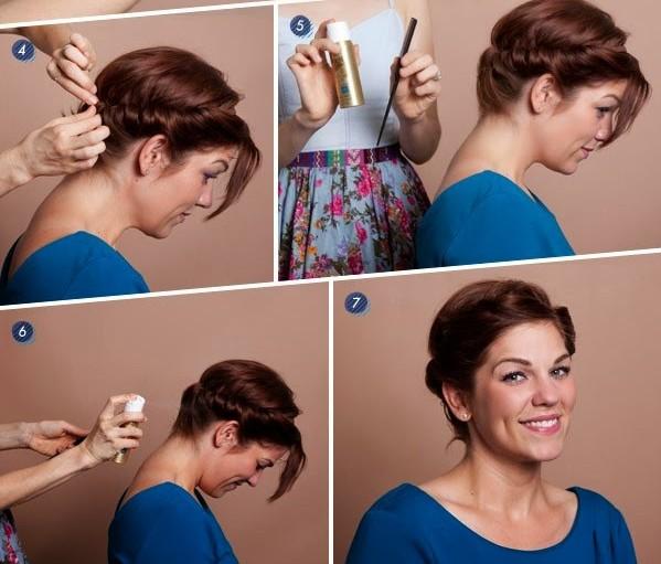 Πλεξούδες για κοντά μαλλιά βήμα βήμα!