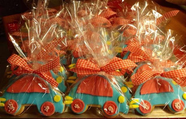 Μπισκότα με ζαχαρόπαστα για τη βάφτιση και το παιδικό πάρτυ