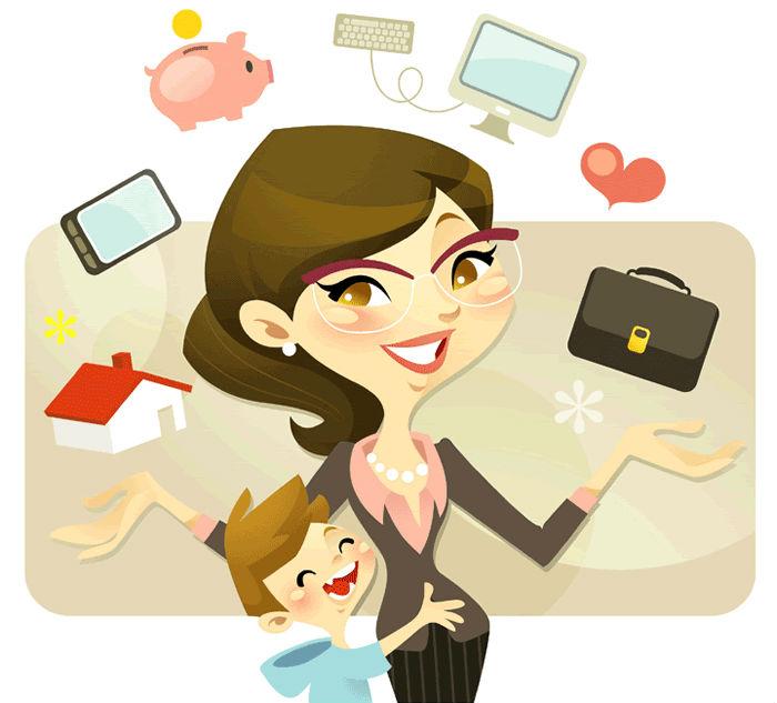 Πόσες δουλειές κάνει κάθε πρωί μια μαμά;