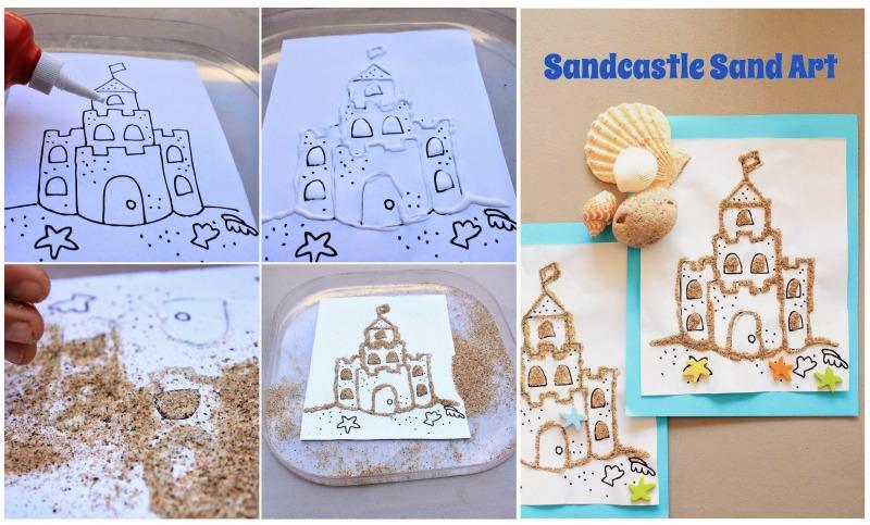 Sand-Castle-Sand-Art
