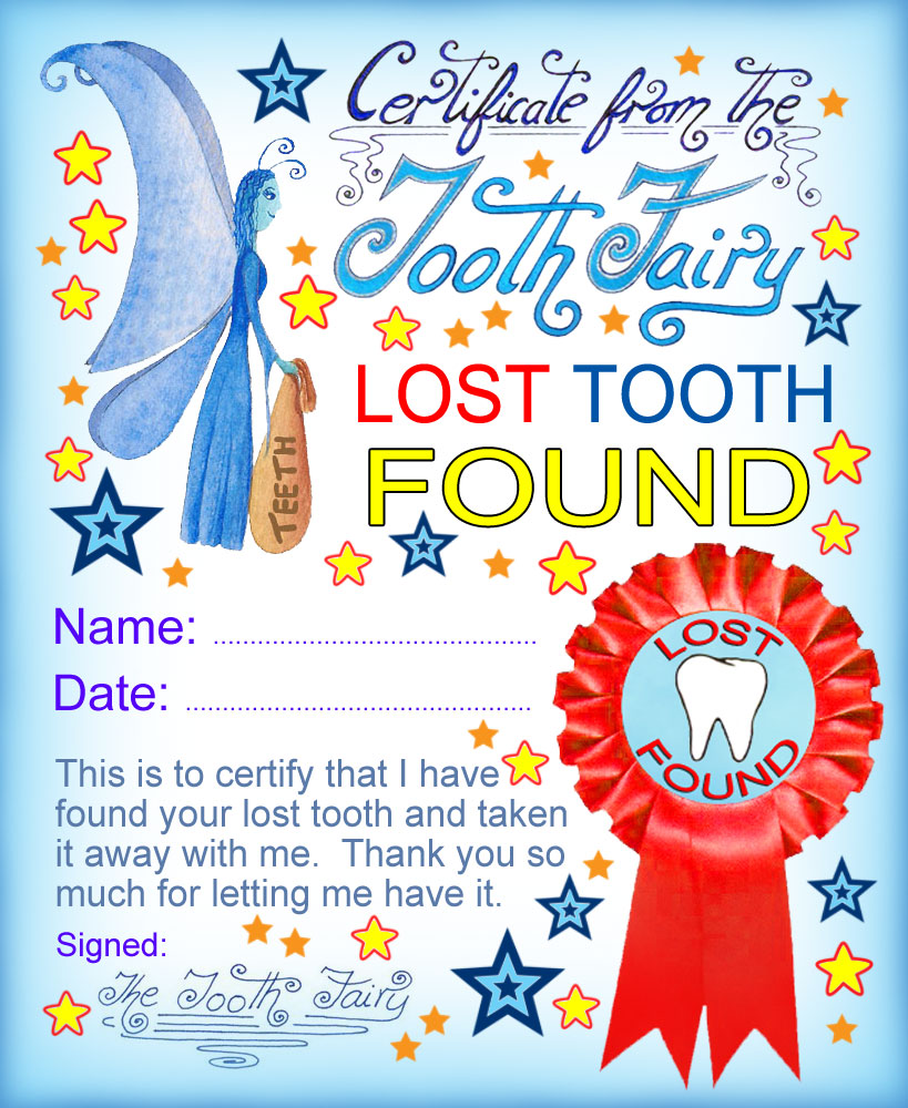 free_tooth_fairy_certificate_lost_tooth_found