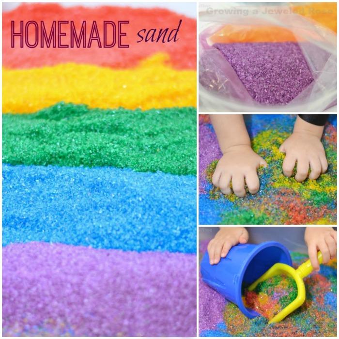 homemade sand pin