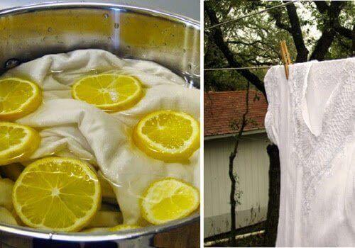5 Φυσικοί τρόποι για λευκάνετε τα ρούχα σας χωρίς λευκαντικό