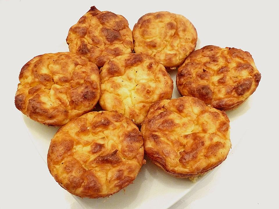 Muffins με κολοκύθια και φέτα
