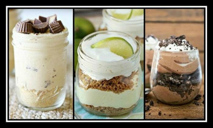 3 Συνταγές χωρίς ψήσιμο για γλυκά σε βαζάκια!
