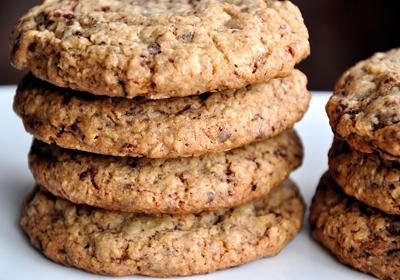 honey oat biscuits