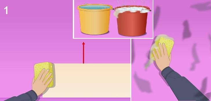 Νέα κόλπα για να καθαρίσετε τους τοίχους και τις ταπετσαρίες