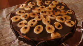 Νηστίσιμο σοκολατένιο γλυκό με μπισκότα