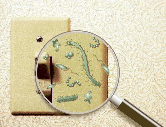 Πως μπορώ να καθαρίσω την κιτρινίλα από τους διακόπτες και τις πρίζες