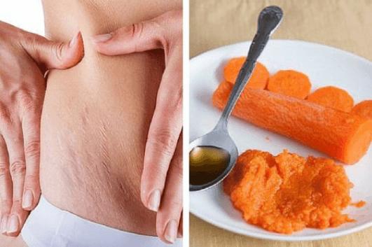Θεραπεία με καρότο για τις ραγάδες