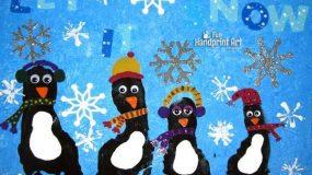 41 Χριστουγεννιάτικες κατασκευές με τα αποτυπώματα των παιδιών!