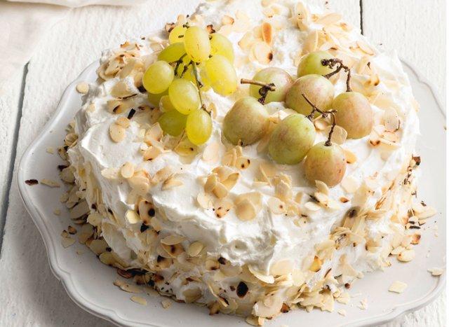 Κέικ με γιαούρτι και σταφύλια!
