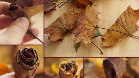 17 εύκολες χειροτεχνίες για να φτιάξεις με φύλλα