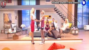 Νανά Καραγιάννη: Η πρώτη τηλεοπτική εμφάνιση μετά την περιπέτεια με την υγεία της και η ενόχλησή της