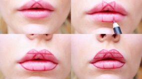 Αποκτήστε φουσκωτά χείλη με αυτό το απίστευτο κόλπο