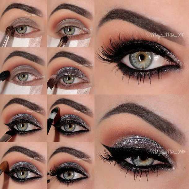 class-diva-glitter-make-up-tutorial-favim-com-2281050